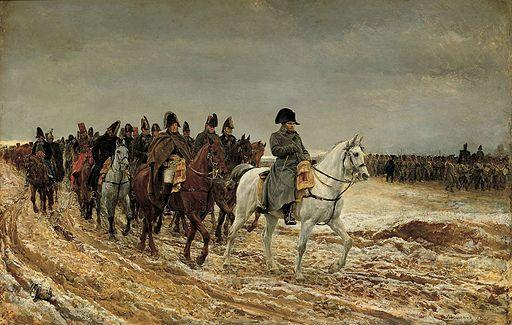 La campaña francesa.