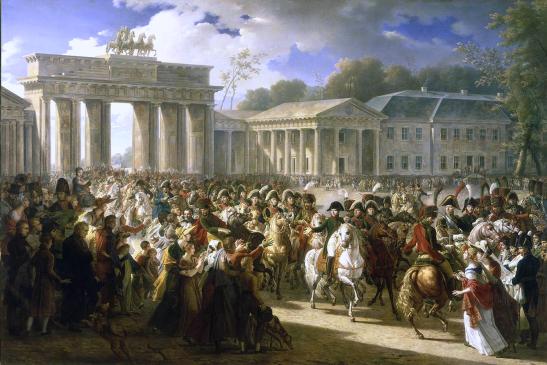 Napoleón en Berín.