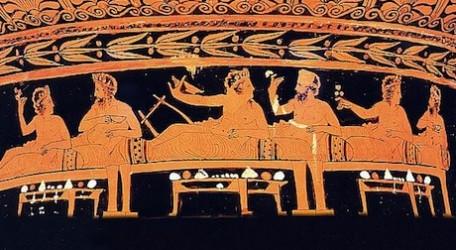 Banquete en la Antigüedad
